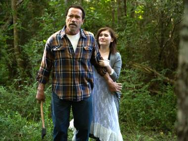 This is a different kind of zombie film ... one with Arnold Schwarzenegger.