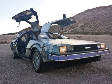 Yes, the flux capacitor-upgraded DeLorean will be there, plus Back to the Future cast members!
