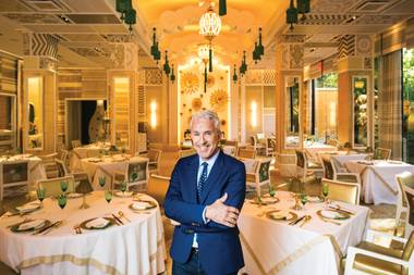 As the lead designer for Wynn Resorts, Roger Thomas is responsible for some of the most sumptuous spaces on the Strip—and beyond.