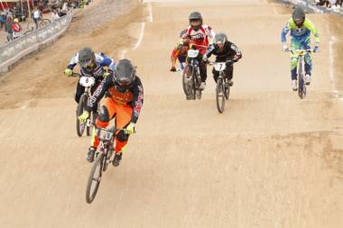 "Don't sweat the technique: Coached by BMX royalty including his dad ""BigRo"" and Olympian Connor Fields, Jaworsky keeps it tight on the track."