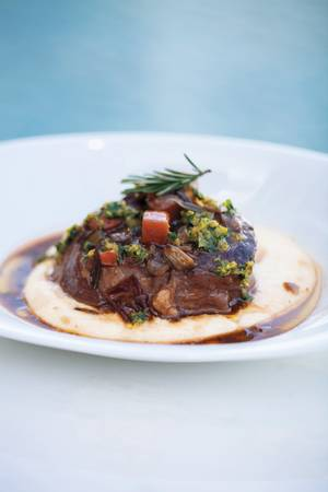 Lago's veal osso buco.