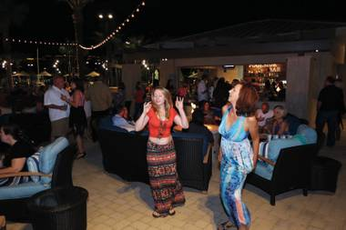 Life Time Athletic put on its Hot Havana Nights party May 23.