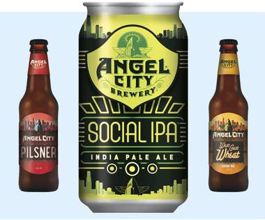 LA-based Angel City Brewery recently began distributing in Las Vegas.