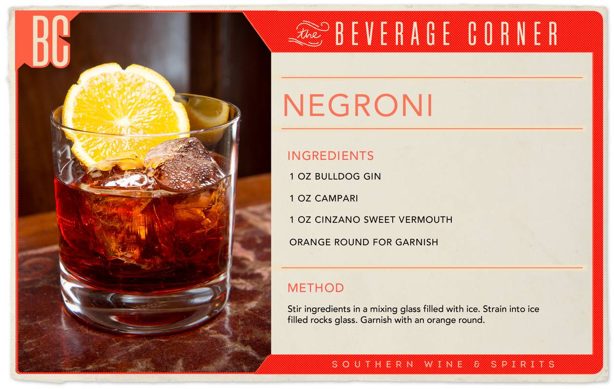June 1 kicks off Negroni Week — seven days dedicated to charitable drinking!