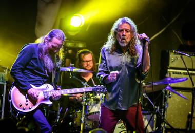 Robert Plant, performing May 28 at Brooklyn Bowl.
