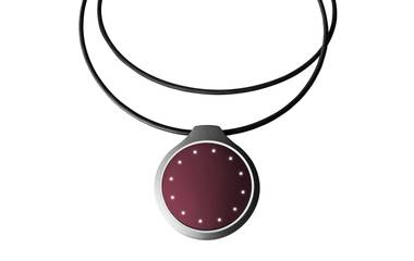 Form and function: The Misfit Shine activity tracker can be worn as a necklace.