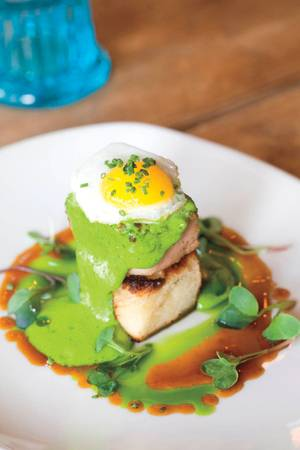 Green eggs and … pork belly? Scrumptious Searsucker gets Seuss-y.