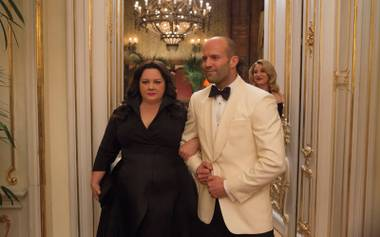 McCarthy delivers the laughs, with Jason Statham mocking his own tough-guy image to hilarious effect.