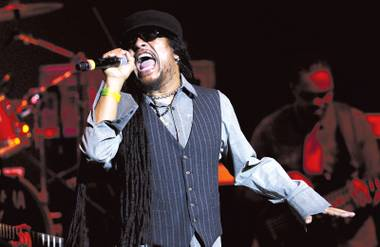 Holy day: Maxi Priest plays Reggae on the Desert on Saturday.