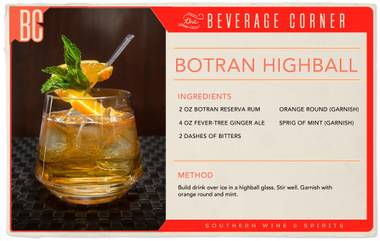 A highball drink meets a highbrow event, and it's for a great cause.