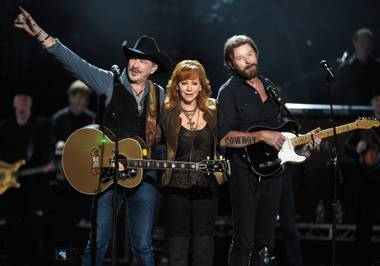 Reba is largely responsible for the early success of Brooks & Dunn, and also for this residency.