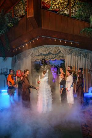 More Weddings Are Better With Elvis Ewoks And Vampires At Viva Las Vegas Wedding Chapel