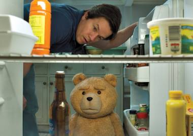 Like its predecessor, Ted 2 is mostly an excuse for Seth MacFarlane to throw out as many crass punchlines as he can.