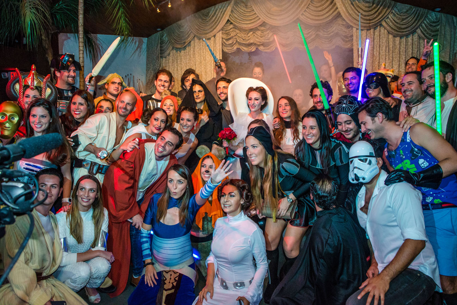 Weddings Are Better With Elvis Ewoks And Vampires At Viva