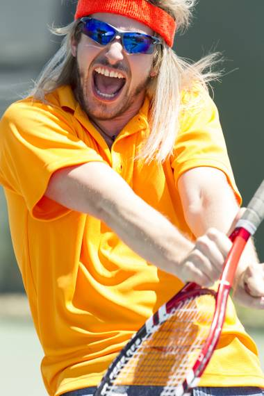 Andy Samberg stars in HBO's tennis mockumentary 7 Days in Hell.