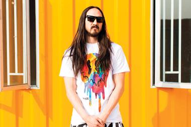 "DJ Steve Aoki warns revelers to ""just be responsible"" when partying."