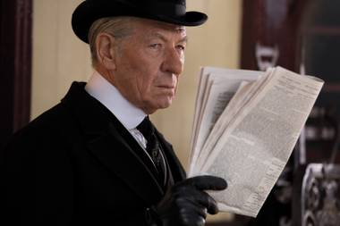 Ian McKellen's Sherlock Holmes doesn't feel like a copy of any of the dozens of other actors who've played the character.