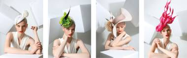 Philip Treacy's hats are now available at the Wynn.
