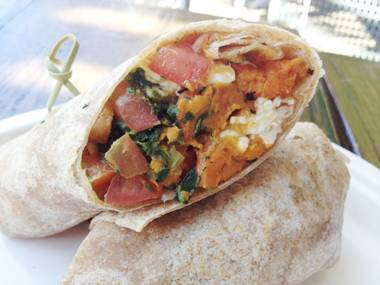 This breakfast burrito is a good idea any time of day.