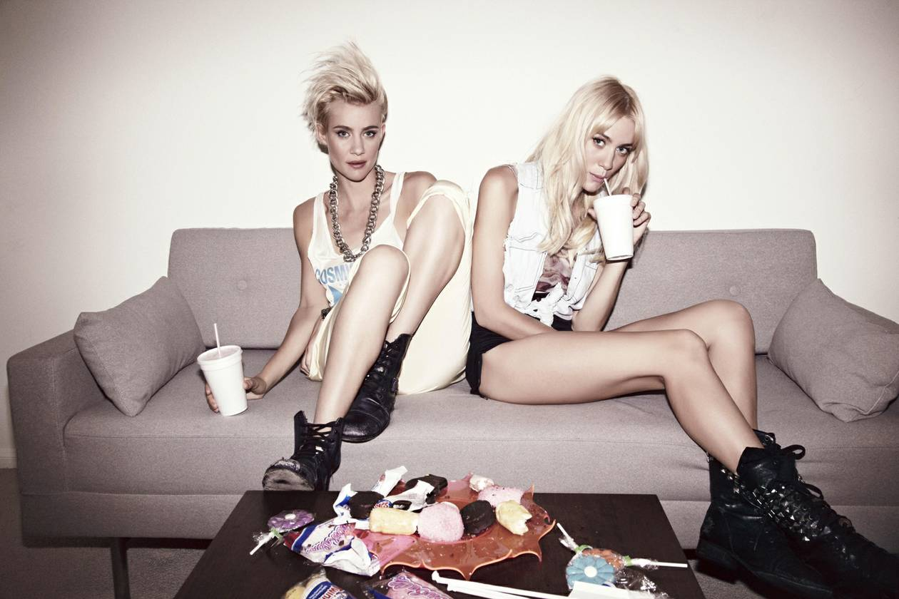 The Australian sisters launch their Haute Mess residency at SLS club Foxtail next weekend.