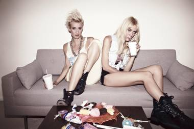 Nervo launches their Haute Mess residency at SLS' Foxtail Pool on August 8.
