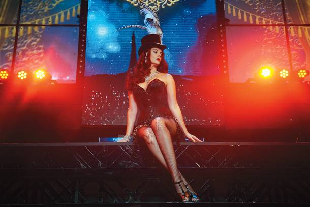 Ginifer King as Satine in Baz.