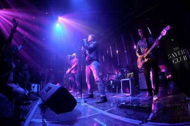 The Sayers Club, which has already played host to Capital Cities (shown here) and Lenny Kravitz, is preparing for a parade of relocated Bunkhouse bookings like Savages, Mew and the Melvins.
