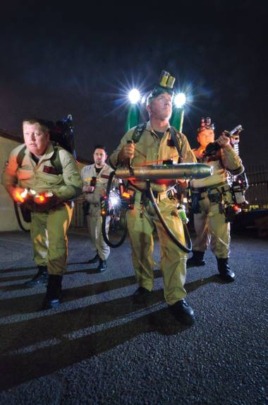The Ghostbusters of Las Vegas seek to help charitable organizations like Opportunity Village and the Salvation Army.