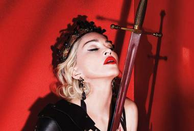 Madonna plays MGM Grand Garden Arena on October 24.