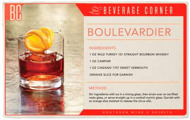 he Boulevardier is like the Negroni's delicious, long lost brother.