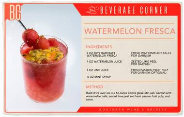 Watermelon sure has a way of cooling down the dog days of summer, and vodka has a way of making them seem more bearable.