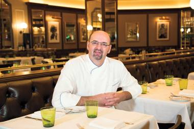 The native of Brittany just departed Aureole at Mandalay Bay to take the helm at Daniel Boulud's restaurant at the Venetian.