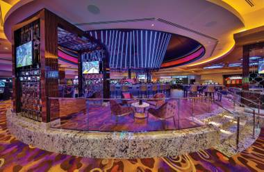 Hard Rock Hotel unveiled its new Center Bar earlier this month.