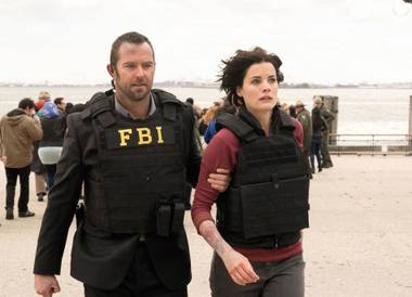 Blindspot is full of action-movie nonsense, along with shadowy conspiracy stuff.