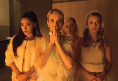 Ryan Murphy brings the worst qualities of his previous shows to the abysmal Scream Queens.