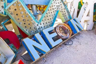 The Neon Museum launches the teen-led tours of its Junior Interpreter program Saturday, September 19.
