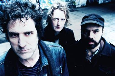 Franklin, right, and Swervedriver will play their first Vegas show on Thursday … probably.