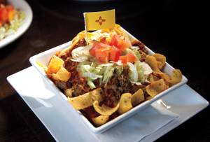Chile Addiction's delicious Frito pie.