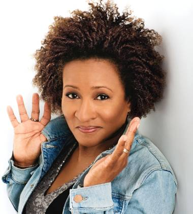 Wanda Sykes stands up at TI on Friday.