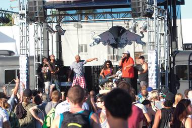 Rhyme & Rhythm at the Life Is Beautiful Festival in downtown Las Vegas, Oct. 26-27, 2013.
