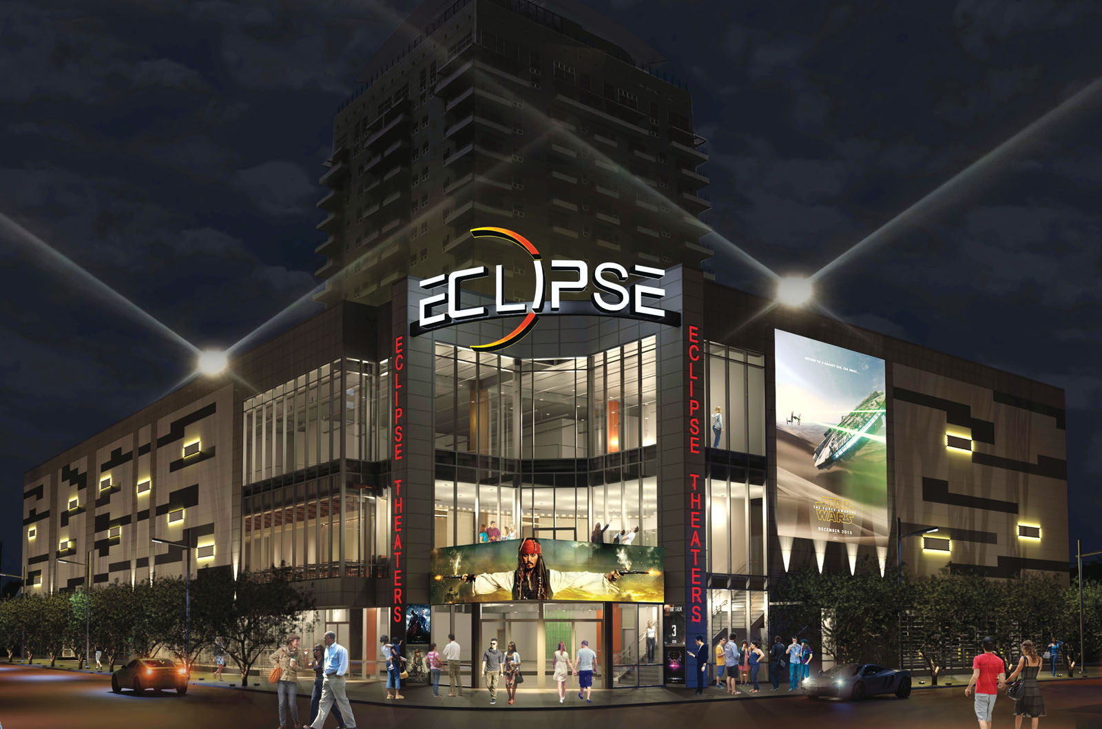 Eclipse Theaters Is On Schedule For A 2016 Downtown Debut Las Vegas Weekly