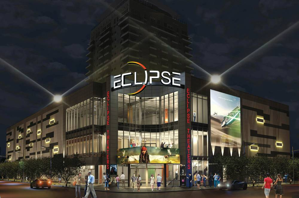 Eclipse Las Vegas >> Eclipse Theaters Is On Schedule For A 2016 Downtown Debut