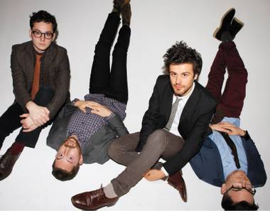 Passion Pit plays Wine Amplified Friday night.