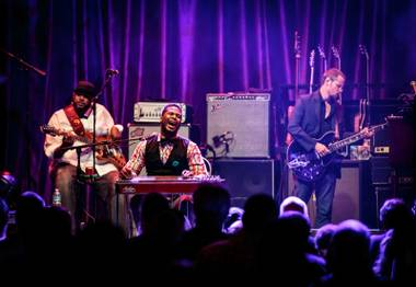 The supergroup took the Brooklyn Bowl Vegas stage on October 6.