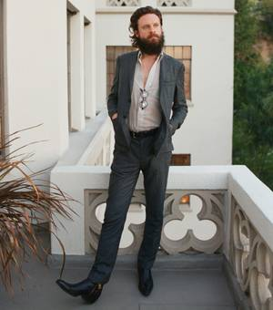 Father John Misty plays Cosmopolitan's Boulevard Pool Thursday night.