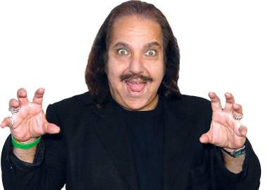 Ron Jeremy plays the museum's curator.