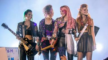The movie version of Jem and the Holograms is too faithful to its source material, attempting to shoehorn many of the show's ridiculous ideas into a mostly serious story about the perils of fame.
