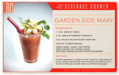 Bloody Marys' are a beloved, classic cocktail, a brunch favorite and open to many different interpretations
