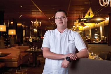 David Thomas is executive chef at Bazaar Meat at SLS.
