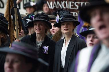 Suffragette tells the story of the battle to secure women the vote.